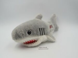 "Jaws Shark B0705 Universal Studio Japan 7"" Beanie Plush Stuffed Toy Doll Japan"