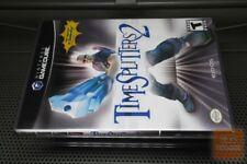 TimeSplitters 2 1st Print (GameCube 2002) COMPLETE! - EX!
