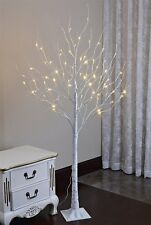 6 Feet Lighted Birch Tree, 72 LED Lights,Christmas Decoration Indoor/Outdoor Use