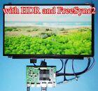 "4K HDR Free Sync2 HDMI DP Board  15.6"" 3840x2160 B156ZAN02.0 LP156UD1 LCD Panel"
