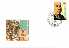 Slovenia 2017 FDC Fran Milicinski 1v Set Cover Writers Playwrights Stamps