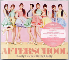 After School: Lady Luck (2012) Japanese / CD & DVD & CARD VERSION B TAIWAN