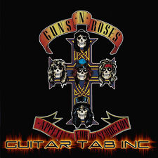 Guns N Roses Guitar Tab Tablature APPETITE FOR DESTRUCTION