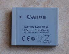 BATTERIA originale Canon nb-6l F. IXUS 85 95 105 200 210 300 HS 310 s95