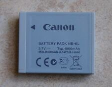 Original Canon batería nb-6l F. IXUS 85 95 105 200 210 300 hs 310 s95