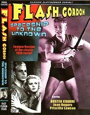 FLASH GORDON: SPACESHIP TO THE UNKNOWN - Feature version DVD  BUSTER CRABBE