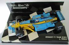 F1 1/43 RENAULT R202 TRULLI 2002 MINICHAMPS