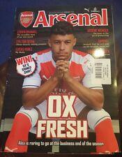 Arsenal Magazine Ox Fresh February 2017 Soccer Football  Goal