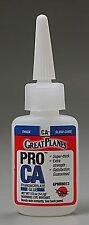 Pro CA- Glue 1/2 oz Thick Great Plane Adhesives GPMR6013