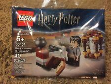 LEGO HARRY POTTER #30407 POLYBAG HARRY'S JOURNEY TO HOGWARTS NIP