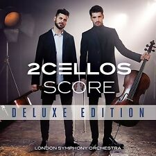 SCORE (DELUXE EDITION/CD+DVD) - 2CELLOS   CD+DVD NEUF