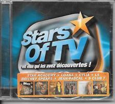 CD COMPIL 20 TITRES--STARS OF TV 1--LOANA/ANGELI/LOFT STORY/CYLIA/SPEARS--NEUF