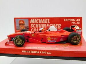 1/43 Minichamps 1997 Ferrari F310B Magny Cours Win #5 Schumacher #510974315