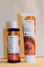 Korres Body Butter & Shower Gel Travel Set - Bergamot Pear - New