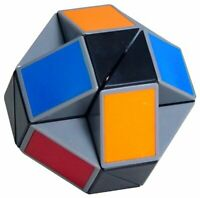 Original Rubik's Twist Transformable Snake Puzzle 100% Official Rubik's Cube