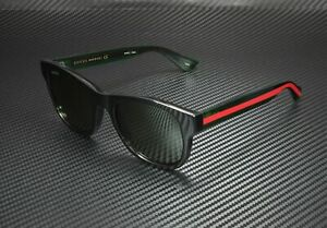 GUCCI GG0003S 002 Black Men's Round Sunglasses 52 mm
