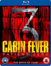 CABIN FEVER 3 - PATIENT ZERO - BLU-RAY - REGION B UK