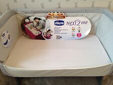 2 Pack Of Chicco next 2 Me crib Fitted Sheet. 100% Cotton. Next to me. Next2me