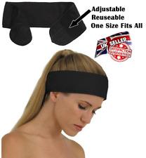 Black Headband Make Up Beauty Towelling Towel Cotton Spa Salon Facial Adjustable