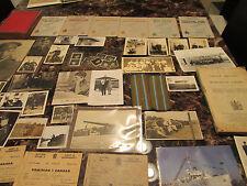 Estate lot 98 Canada Army Photos Magazine books Ephemera Medals Patches WW1 WW2