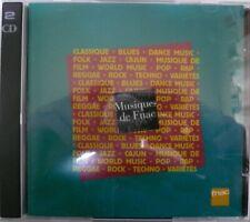 2xCD MUSIQUES DE FNAC Electronic Hip Hop Jazz Rock Funk Soul Blues Pop LIMITED