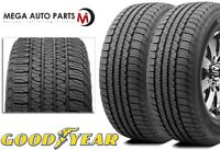 2 Goodyear Fortera HL P245/65R17 105T All Season Touring CUV SUV M+S Rated Tires