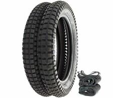 Shinko SR241 Trail Tire Set - Honda CL100K CL160 - Tires Tubes and Rim Strips
