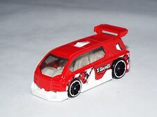 Hot Wheels 1 Loose Vehicle From X-Games 5 Pack  Hyperliner  Red & White