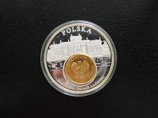 * Medaille 50 mm * European Currencies - Polska Warszawa: Palais Lazienki *