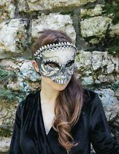 Victorian Trading Co Masquerade Skull Skeleton Halloween Mask