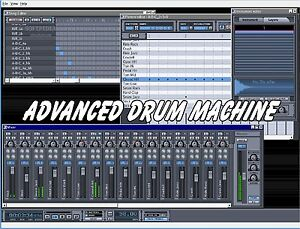 Advanced Drum Machine 2019 studio beat making software 7 8 10
