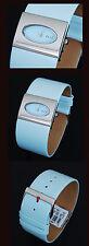 Designer- E L L E Women's Watch Blue Colourful Leather Band