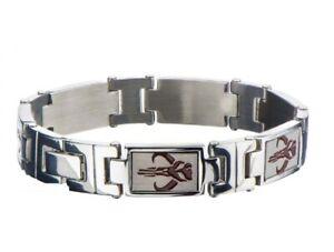 MANDALORIAN SYMBOL - Stainless Steel Premium Quality Link Bracelet
