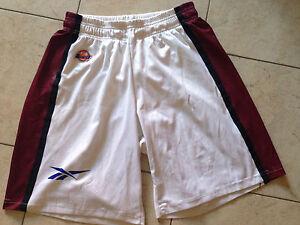 Pantaloncini Short Livorno XXL Nba Lega Basket Reebok Mabo Bini Viaggi Logo