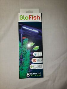 """New! GloFish 8"""" LED Blue Light for up to 10 Gallons"""