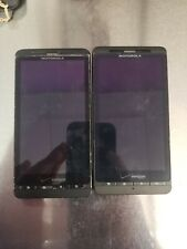 LOT OF 2 Motorola Droid X2 MB870 Verizon Wireless - FOR PARTS/AS IS-