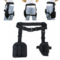 Tactical Pistol Drop Leg Thigh Holster Right Hand Holster Mag Pouch with Belt