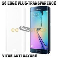 Film de protection Samsung Galaxy S6 EDGE PLUS transparent verre trempé packagin