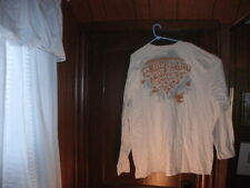 Timberland t-shirt long sleeve beige front and back size 3XL/3TG BRAND NEW