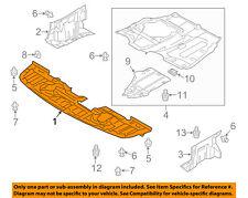 MITSUBISHI OEM Lancer Splash Shield-FR Under Radiator/Engine Cover 5379A537