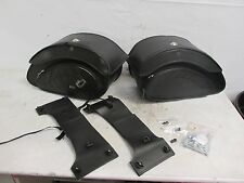 Viking Bags Universal Lockable Saddlebags Set Black Used