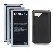 3x Battery +Dock Charger for Samsung Galaxy S5 SV SM-G900V Verizon SM-G900A AT&T