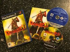 PLAYSTATION 2 PS2 DMC GAME DEVIL MAY CRY 3 COMPLETE Inc' MONSTER HUNTER DEMO PAL