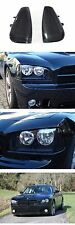 DEPO Black / Clear Front Corner Light Pair For 2006-2010 Dodge Charger R/T SRT8