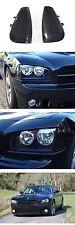 DEPO 06 07 08 09 10 Dodge Charger R/T SRT8 BLACK / CLEAR FRONT Corner Light Pair