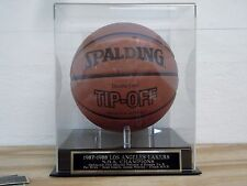 Display Case For Your 1987-88 Los Angeles Lakers Autographed Basketball