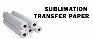 "Qty 1, Dye Sublimation Transfer Paper 44"" Mutoh Roland Mimaki Epson Beaver  (CA)"