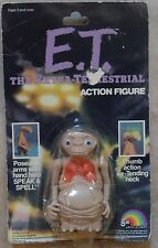 E.T. The Extra-Terrestrial Poseable Action Figure Extending Neck Ljn 1982 New