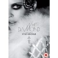 "KYLIE MINOGUE ""WHITE DIAMOND/HOMECOMING"" 2 DVD NEW+"