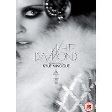 "KYLIE MINOGUE ""WHITE DIAMOND/HOMECOMING"" 2 DVD NEW+"
